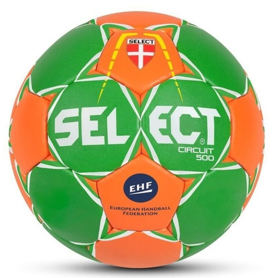 handbalul minge Select HB circuit 450 verde orange