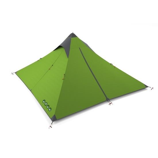 cort răgușit ultraușoare Sawaj Trek 2 verde
