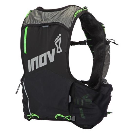 treadmill rucsac Inov-8 RACE ULTRA PRO 5 VEST 000787-BKGR-01 negru cu verde