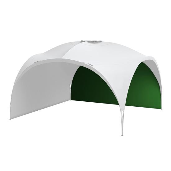 Shelter-Screen Husky BROOF XL verde