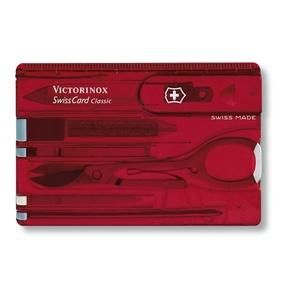 cuțit Victorinox SwissCard clasic 0.7100.T, Victorinox