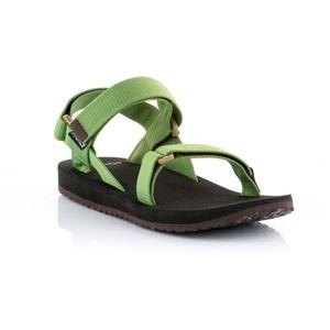 sandale SOURCE urban pentru bărbați piele verde, Source