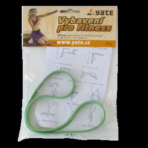 Radiera fitness 'Despre' mijloc verde ambalare 50 ks, Yate