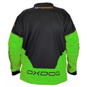 portar jersey OXDOG VAPOR Goalie SHIRT negru / verde, Exel