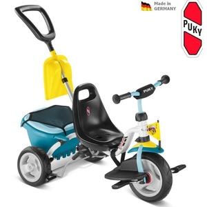 Cu trei roți PUKY Transporta PISICA 1SP ușoară albastru 2437, Puky
