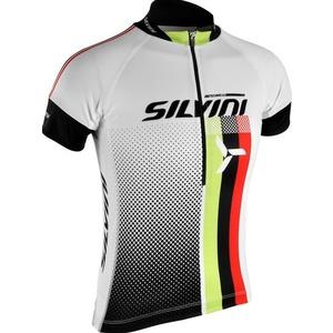 copilăresc ciclism jersey Silvini ECHIPA copii CD842K alb, Silvini