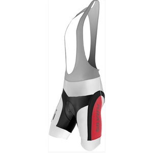 Pentru bărbaţi ciclism pantaloni Silvini vesel MP605 alb-roșu, Silvini
