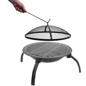 cămin cu grill-ul grilă şi trapă Cattara VESUV 48cm, Cattara