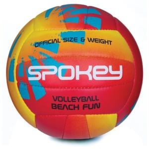 volei minge Spokey BEACH FUN roșu-galben č.5, Spokey