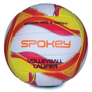 volei minge Spokey LAUFER alb-roșu-galben, Spokey