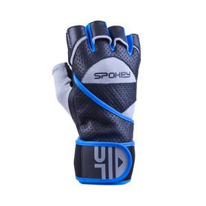 fitness manusi Spokey GANTLET (II) negru-albastru, Spokey