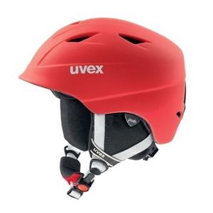 schi cască UVEX AIRWING 2 PRO, roșu șah-mat (S566132300*), Uvex
