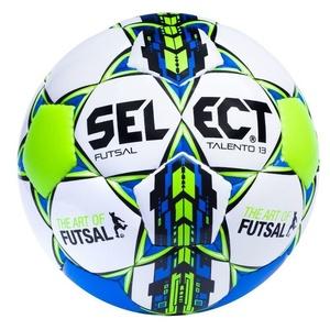 futsalul minge Select pensiune completă Futsal talento 13 alb albastru, Select