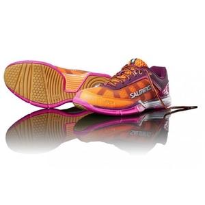Pantofi Salming viperă 4 femei Purple / Orange, Salming