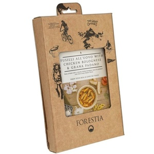 alimente Forestia Fusil all'uovo cu pui în bologna sos cu grana grana (cu radiator), Forestia