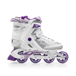 skates patine Spokey PRIME alb-violet, Spokey
