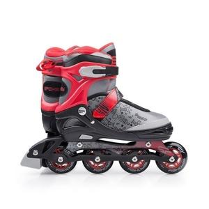 skates patine Spokey SNAP gri-roșu, Spokey
