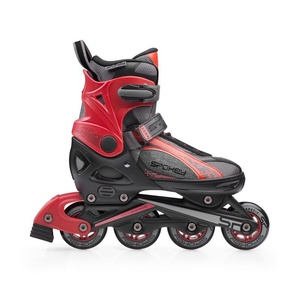 skates patine Spokey RENO negru-rosu, Spokey