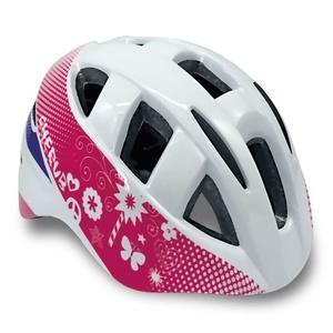 copii bicicliștii cască Spokey CHERUB alb, 48-54 cm, Spokey