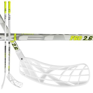 floorball stick-ul Exel F60 WHITE 2.6 103 ROUND MB, Exel