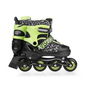 Spokey cuier skates patine, reglementate, verde, Spokey