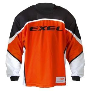 Golmanský jersey EXEL S60 Goalie JERSEY junior negru / orange, Exel