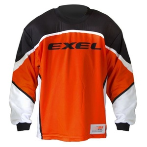 Golmanský jersey EXEL S60 Goalie JERSEY senior negru / orange, Exel