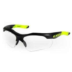 de protecție brýleexel X100 EYE GUARD senior negru, Exel