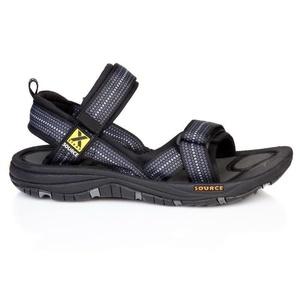 sandale SOURCE Gobi pentru bărbați șah Negru, Source