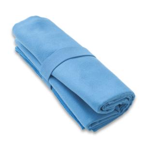 Uscare rapidă prosop HIS culoarea albastru XL 100x160 cm, Yate