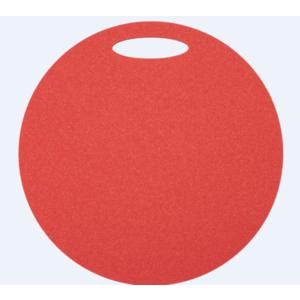 scaun Yate rotund 1 strat diametru 350 mm roșu, Yate