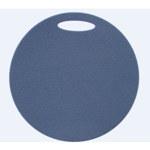 scaun Yate rotund 2 strat diametru 350 mm albastru / roz, Yate