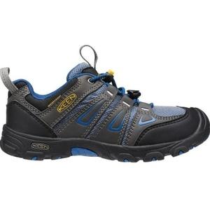 Copii pantofi Keen OAKRIDGE LOW WP JR, magnet / adevărat albastru, Keen