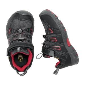 Copii pantofi Keen OAKRIDGE LOW WP Pentru a, negru / tango, Keen