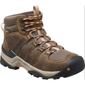 Femeii pantofi Keen gips (II) MID W, cornstock / aur coral, Keen