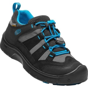 Copii pantofi Keen Hikeport WP jr, negru / albastru bijuterie, Keen