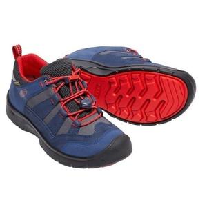 Copii pantofi Keen Hikeport WP jr, rochie blues / incendiu roșu, Keen