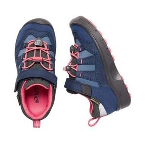 Copii pantofi Keen Hikeport WP jr, rochie blues / zahăr coral, Keen