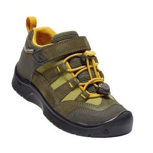 Copii pantofi Keen Hikeport WP Pentru a, întuneric măsline / citrice, Keen