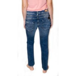 Pantaloni Mavi Mira Indigo de epocă petrecere, MAVI