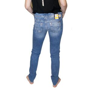 Pantaloni Mavi Lindy nuanțat rupt str, MAVI