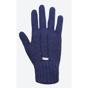 tricotat merinos manusi Kama R103 108 întuneric albastru, Kama