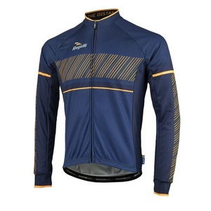 cyklodresy Rogelli RITMO cu lung maneca, 001.257. albastru-portocaliu, Rogelli