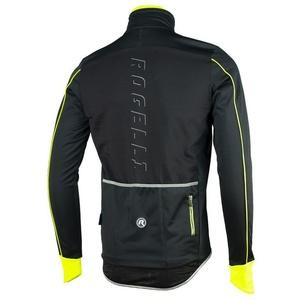 pentru bărbați softshell jacheta Rogelli Renon 3.0., 003.037. reflecție negru galben, Rogelli