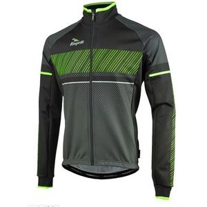 pentru bărbați softshell jacheta Rogelli Ritmo, 003.256. negru-verde, Rogelli