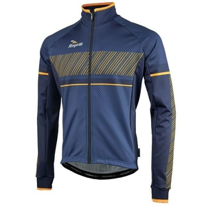 pentru bărbați softshell jacheta Rogelli Ritmo, 003.257. albastru-portocaliu, Rogelli