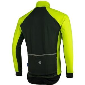 pentru bărbați ciclism jersey Rogelli toate Seasons, 004.024. reflecție galben și negru, Rogelli