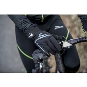 Pentru bărbaţi ciclism manusi Rogelli Shield, 006.128. negru, Rogelli