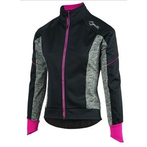 femei bicicliștii jacheta Rogelli Carlyna 2.0, 010.306. negru-gri-roz, Rogelli