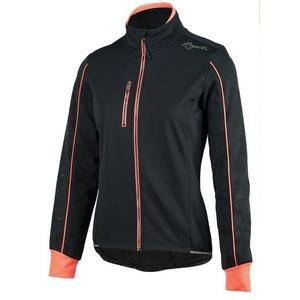 femei bicicliștii jacheta Rogelli Camilla 3.0, 010.308. negru-roz, Rogelli